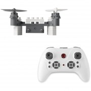 Drone Quadcopter SMAO M3 0.3MP Wifi-Gris + Blanco