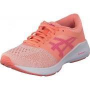 Asics Roadhawk Ff Gs Begonia Pink/pink Glo/white, Skor, Sneakers & Sportskor, Löparskor, Rosa, Barn, 36