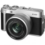 Fujifilm X-A7 + 15-45mm XC F3.5-5.6 OIS PZ - ARGENTO - 4 Anni di Garanzia in Italia