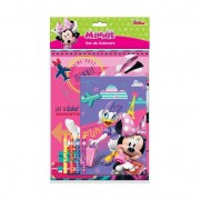 Jk0238 album da colorare con 4 colori minnie