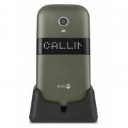 Doro Téléphone Mobile à Clapet DORO 6050 champagne- blanc