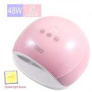 SilverHome Star5 mini 48W UV / LED lámpa - pink