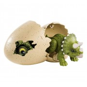 Figurina Jurassic World Hatchlings Triceratops in ou