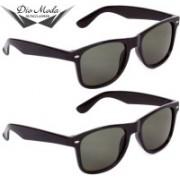 Dio Moda Wayfarer Sunglasses(Green)