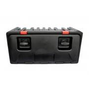 Boîte à outils Lago BLACK DOG 750 - double serrure