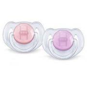 Overig Classic fopspeen 6-18 Maanden paars/ roze