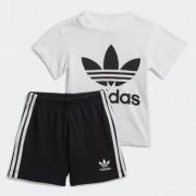 Adidas Conjunto camiseta y pantalón corto Trefoil