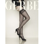 Gerbe - Sheer mat hold ups without lycra Voile Boutique 20 DEN