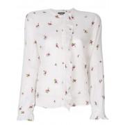 Isabel Marant рубашка с вышивкой 'Uamos' Isabel Marant