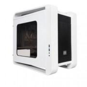 Кутия Xigmatek Aquila White, Mini ITX / Micro ATX, 2x USB 3.0, 1x вентилатор 120mm, 1x LED вентилатор 200м, бяла, без захранване