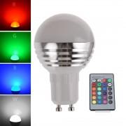 GLOBE GU10 16farebná žiarovka