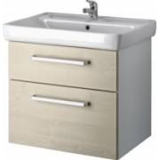 Závesná skrinka s umývadlom Q MAX 700 - wenge