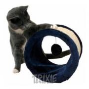 Škrábací ROLL pro kočky 23x20cm - modrý