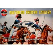 Airfix Set 01743 Waterloo British Cavalry (Hussars) Plastic Toy Soldiers Set In 1/72 Scale.