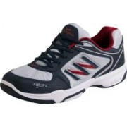 Campus BR-10 Running Shoes(Blue, Grey, Red)