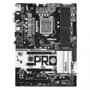 Дънна платка ASRock Z270 Pro4, Z270, LGA 1151, DDR4, PCI-E (HDMI&DVI&VGA)(CFX), 6x 6.0Gb/s, 5x USB 3.0, 1x USB 3.0 TypeC, 2x Ultra M.2 Sockets, ATX