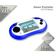 Iwawa Handheld Game Console 220In1 Video Games Player Portable Machines Gaming Device Recreational Controller