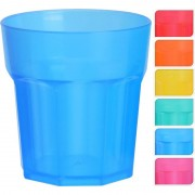 Geen 18x Gekleurde shotglaasjes van plastic