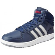 adidas neo Men's Hoops VS Mid Conavy, Msilve and Powred Sneakers - 9 UK/India (43.3 EU)