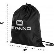 Stanno Stanno Gymsack Sporttas - Zwart - Maat One Size