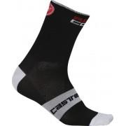 Castelli Rossocorsa 13 - calzini bici - Black