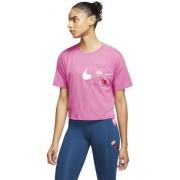 Nike Icon Clash Training - T-shirt fitness e training - donna - Pink