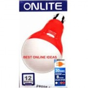 Bright White 7w A.C./D.C. LED Rechargeable Emergency Bulb By Paridhi Collections