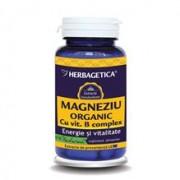 Magneziu Organic Herbagetica 60cps