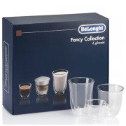 DeLonghi Fancy Collection set 6 pahare sticla