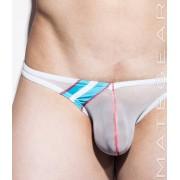 Mategear Nae Kal Mesh Series Ultra Pouch Bikini Underwear White 1660303