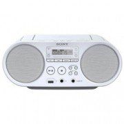 CD player Sony ZS-PS50, 2X2W, CD, MP3, AM/FM тунер, бял
