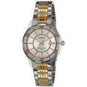 Casio Enticer Analog Silver Dial Womens Watch - Ltp-1358Sg-7Avdf (A898)