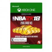 xbox one nba 2k18: 200,000 vc digital