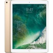 "Tableta Apple iPad Pro 12, Procesor Hexa-Core 2.3GHz, IPS LCD 12.9"", 256GB Flash, 12 MP, Wi-Fi, iOS (Auriu) + Cartela SIM Orange PrePay, 6 euro credit, 6 GB internet 4G, 2,000 minute nationale si internationale fix sau SMS nationale din care 300 minute/SM"