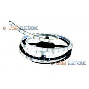 Striscia LED 5MT Subacquea Tubo Silicone IP68 Bianco Freddo 6500K con Alimentatore 12V 2AH