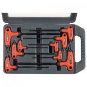 Torx kulcs készlet, 9db, CV., gumírozott T-nyelű (8819401)