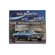 MODEL SET 1968 DODGE CHARGER (2 IN 1) - REVELL (RV67188)