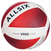 Allsix Ballon de volley-ball V900 blanc/rouge - Allsix
