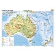 Australia si Noua Zelanda 100x70 cm