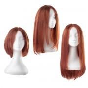 Rapunzel® Parrucche Parrucca Lace Capelli naturali 6.13 Mahogany 30 cm
