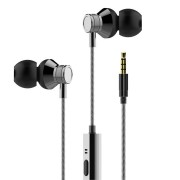 JUSTNEED M3 3.5mm In-ear Wired Control Earphone Headphone With Mic