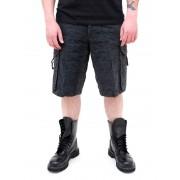 pantaloni scurți bărbați SURPLUS - Checkboard - NEGRU - 05-5650-03