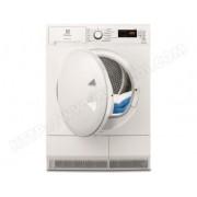 ELECTROLUX sèche-linge pompe à chaleur avec condenseur 60cm 8kg a+ blanc - ew7h4801sc