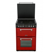 Stoves 600G Jalapeno Gas Cooker with Double Oven - Red