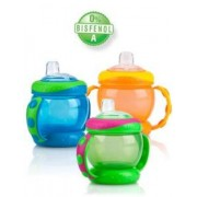 Nuby Taza antiderrames Easy Grip 9 oz 260 ml con Doble Asa