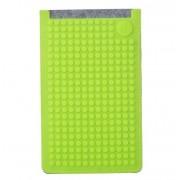 UPixel Bags - Универсален калъф за телефон голям - сиво/светло зелено