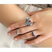 Nautilus Concept Sada 3 prstenů Boheme Symbols
