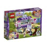 Set de constructie LEGO Friends Standul de arta al Emmei
