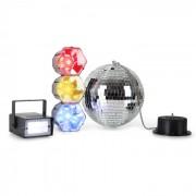 Disco Fever Mega Party Conjunto Luz Iluminação LED