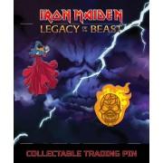 Iron Maiden Kitűzők - Legacy of the Beast - Látnok & vesszőfonás Férfi - IMC-0103